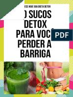 Sucos Detox 20 sucos