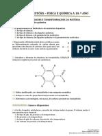 Química 10º ano