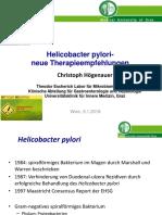 Helicobacter pylori- Therapie