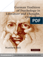 The german tradition of psychology in Literature and Thought 1700-1840.pdf