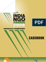 India NGO Awards 2008 Casebook