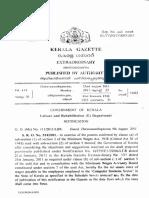 Kerala Minimum Wages Notification Basic IT Sector