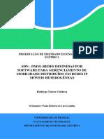 Dissertação redes SDN