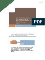ASPECTOS SOCIO-CULTURALES