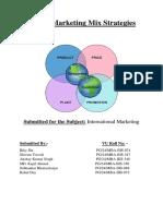 Global Marketing Mix Strategies.docx