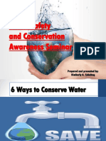 Water Safety and Conservation Awareness Seminar