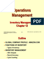 lecture notes in inventory management