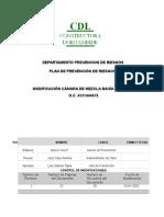 PLAN  DE PREVENCIÓN DE RIESGOS rev 2