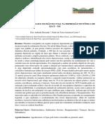 Rezende e Castro (2019) Níveis deposicionais e incisão fluvial na depressão tectônica de Ijaci - MG