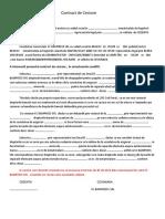 CONTRACT DE CESIUNE Model (2)