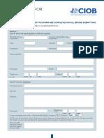 Membership Application Form 2019 AD