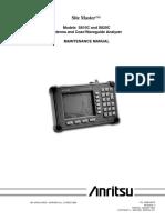 Anritsu S810C_S820C