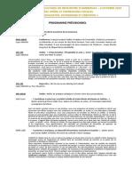 Programme prévisionnel Ambronay