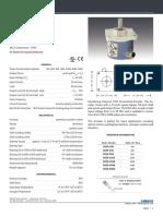 Datasheet encoder Optico Celesco ch25