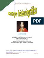 Esayo Historiográfico