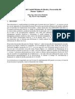 Estudio Hidrológico y Socavación Quilca 1