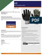 Guante anti impacto - Portwest