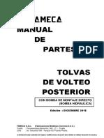 MANUAL DE PARTES  - SEMICIRCULAR CON CADENAS 20M3