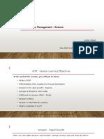 Supply Chain Management - Amazon - Sample Presentation