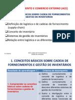 ACE RA1 - CONCEITOS BASICOS DE CADEIAS DE FORNECIMENTO E GESTÃO DE INVENTARIOS