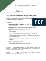TRABAJO  DE DERECHO PROCESAL VI
