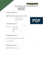 Solucionario Ensayo Final 4 Matemática