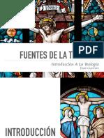 Fuentes de la Teología (Tradición - Razón)