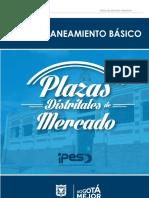 Plan de Saneamiento Ambiental Plazas de Mercado