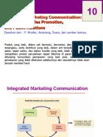 Minggu Ke-10 Komunikasi Pemasaran
