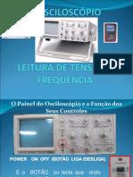 Leitura de osciloscópio