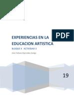 DIDACTICA DE LA EDUCACION ARTISTICA. bloque 11 act 3.docx
