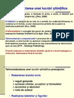 MELS_Tema 5_Redactarea lucrarilor    stiintifice.ppt