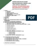 ESTOMATOLOGIA PRIMER TRABAJO DE INVESTIGACION 2019-II