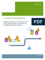 The Rcd Handbook - Guide to the Selection and Application of Residual Current Devices