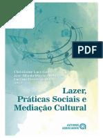 Livro Lazer, práticas sociais e mediação cultural