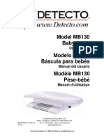 manual balanza pediatrica baby scale