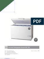 manual refrigerador