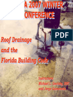 ROOF Drainage Commentary