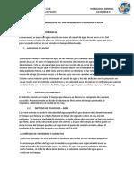 AFOROS Y ANALISIS DE INFORMACION HIDROMETRICA
