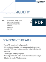 AJAX & jQuery Presentation Group22
