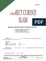 ModelProiectSecuritate
