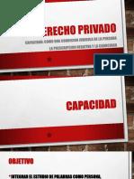 Capacidad, La Prescripción negativa y la Cadicidad en el Derecho Civil.pptx