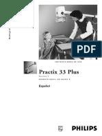 philips practix 33 manual de operador