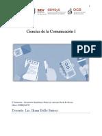 GUIA DIDÁCTICA CIENCIAS DE LA COMUNICACIÓN I