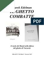 Marek Edelman Il Ghetto Combatte