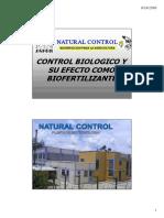 Control biologico y su efecto como biofertilizante