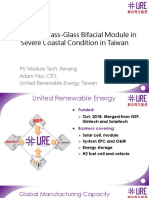Design of Glass-Glass Bifacial Module in Severe Coastal Condition in Taiwan - URE.pdf