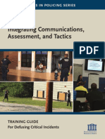 Integrating Communications, Assessment and Tactics (ICAT) Training Guide