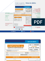 Formato Nota de débito