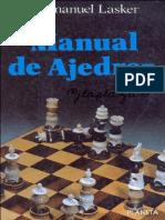 Manual de Ajedrez - Lasker Emanuel